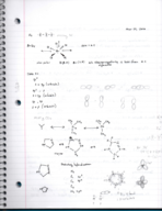 CHEM 131 - Class Notes - Week 11