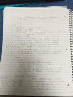 BCORE 101 - Class Notes - Week 10
