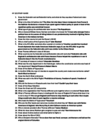 HY 120 - Study Guide