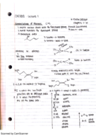 CHEM 118 - Class Notes - Week 1