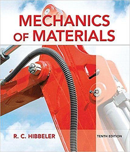 Mechanics of Materials | 10th Edition | ISBN: 9780134319650 | Authors: Russell C. Hibbeler