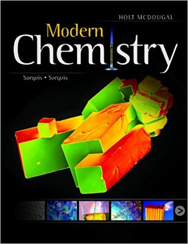 Modern Chemistry: Student Edition 2012 | 1st Edition | ISBN: 9780547586632 | Authors: Jerry L. Sarquis, Mickey Sarquis