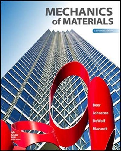 Mechanics of Materials,  (Mechanical Engineering) | 7th Edition | ISBN: 9780073398235 | Authors: Ferdinand P. Beer