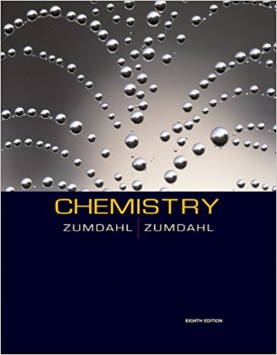 Chemistry | 8th Edition | ISBN: 9780547125329 | Authors: Steven S. Zumdahl