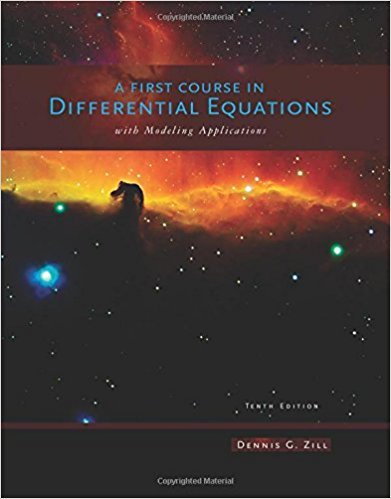 A First Course in Differential Equations with Modeling Applications | 10th Edition | ISBN: 9781111827052 | Authors: Dennis G. Zill