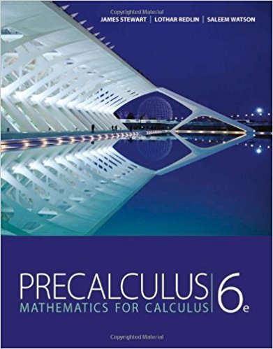 Precalculus: Mathematics for Calculus | 6th Edition | ISBN: 9780840068071 | Authors: James Stewart