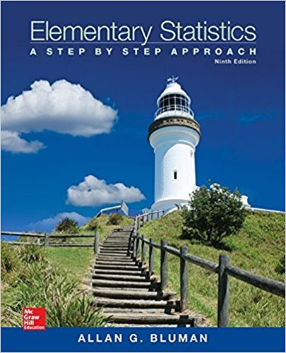 Elementary Statistics: A Step By Step Approach | 9th Edition | ISBN: 9780073534985 | Authors: Allan Bluman