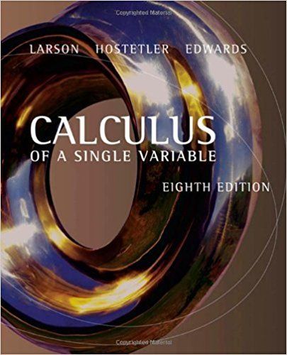 Calculus of a Single Variable | 8th Edition | ISBN: 9780618503032 | Authors: Ron Larson