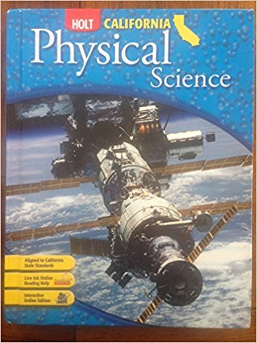 Holt Science & Technology California: Student Edition Grade 8 Physical Science 2007 | 1st Edition | ISBN: 9780030426599 | Authors: RINEHART AND WINSTON HOLT