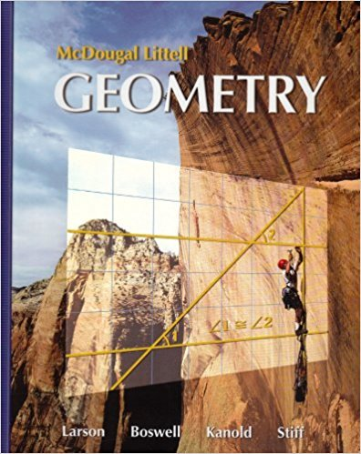 Geometry (Holt McDougal Larson Geometry) | 1st Edition | ISBN: 9780618595402 | Authors: Ron Larson Laurie Boswell Timothy D. Kanold, Lee Stiff