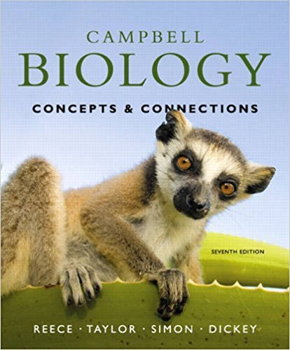 Campbell Biology: Concepts & Connections | 7th Edition | ISBN: 9780321696816 | Authors: Jane B. Reece, Martha R. Taylor, Eric J. Simon, Jean L. Dickey