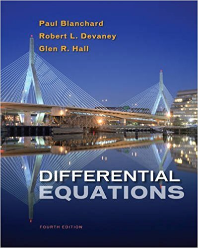 Differential Equations 00 | 4th Edition | ISBN: 9780495561989 | Authors: Paul (Paul Blanchard) Blanchard, Robert L. Devaney, Glen R. Hall