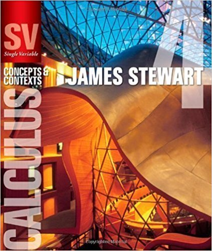 Single Variable Calculus: Concepts and Contexts (Stewart's Calculus Series) | 4th Edition | ISBN: 9780495559726 | Authors: James Stewart