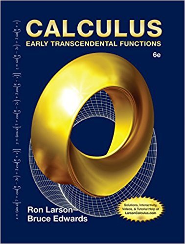 Calculus: Early Transcendental Functions | 6th Edition | ISBN: 9781285774770 | Authors: Ron Larson