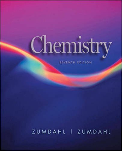 Chemistry | 7th Edition | ISBN: 9780618528448 | Authors: Steven S. Zumdahl