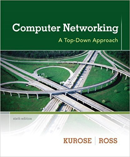 Computer Networking: A Top-Down Approach | 6th Edition | ISBN: 9780132856201 | Authors: James F. Kurose, Keith W. Ross
