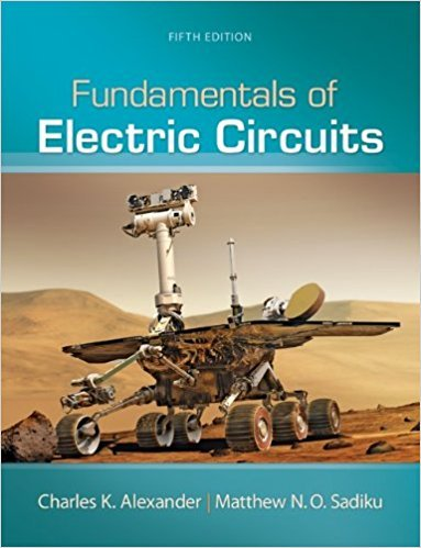 Fundamentals of Electric Circuits | 5th Edition | ISBN: 9780073380575 | Authors: Charles Alexander